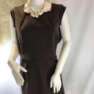 Jennifer Lopez brown dress